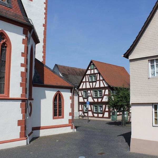 Abriss eines Fachwerkhauses in Langstadt, Translocierung und Wiedererrichtung