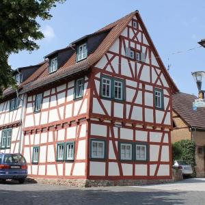 Sanierung von 2 Fachwerkhäusern am Schlossplatz
