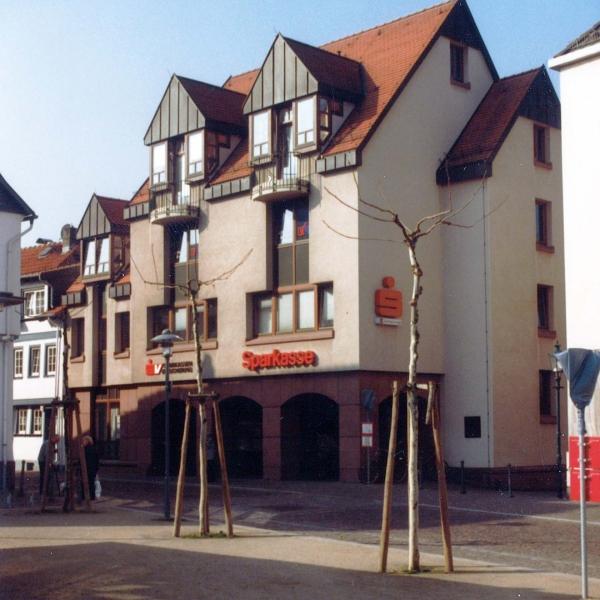 Neubau Sparkasse am Markt in Dieburg
