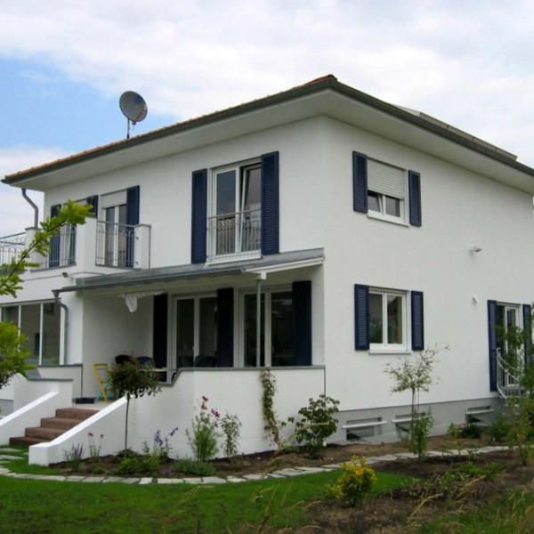 Neubau eines Einfamilien-Wohnhauses