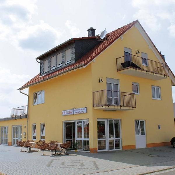 Neubau Imbissgaststätte mit Büro und Wohnung