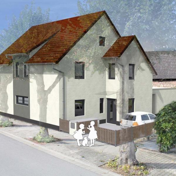 Neubau 1-Familienwohnhaus in Holzrahmenbauweise