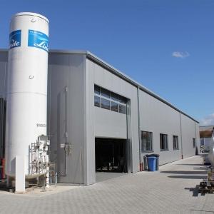 Produktionshalle für ein Maschinenbauunternehmen