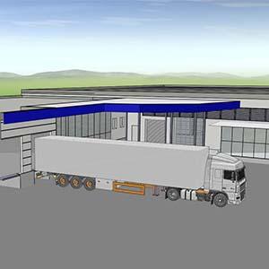 Nutzungsänderung  und Umbau in einer Industrieanlage in Langen