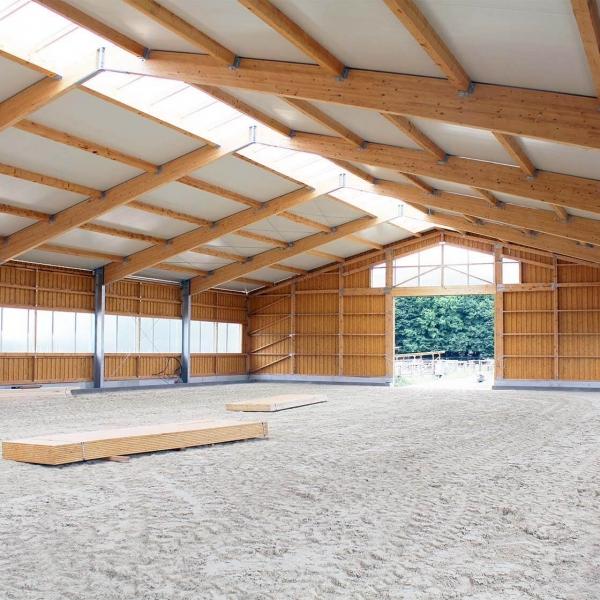 Neubau einer Reithalle für den Pferdesport