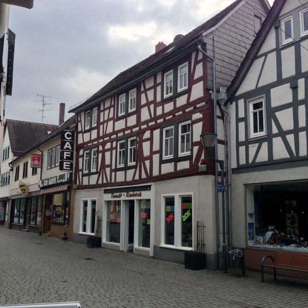 Umbau und Erweiterung Geschäftshaus in Fußgängerzone