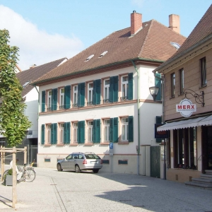 Sanierung eines Pfarrhauses in der Altstadt