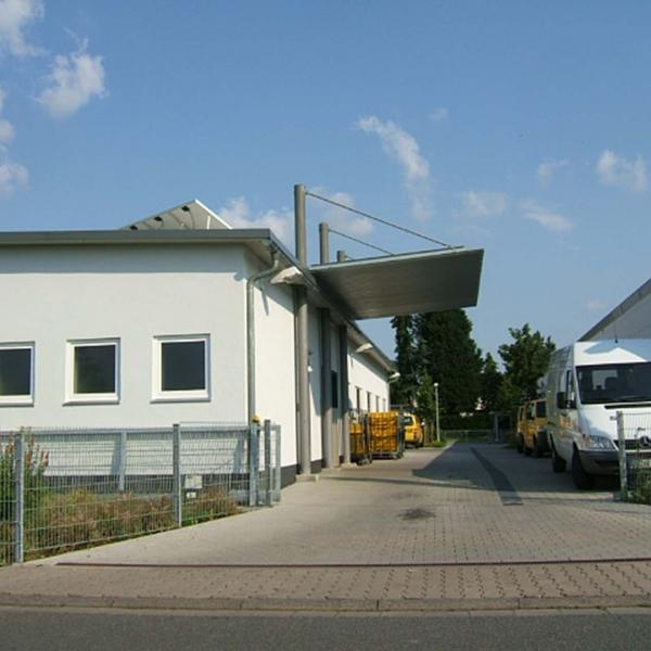 Neubau Briefverteil-Zentrum der POST
