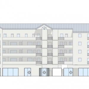 Geschäftshaus mit 25 Wohnungen in Heusenstamm