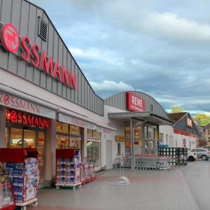Märktezentrum in Langen