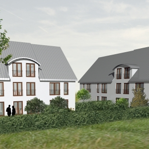 Neubau 5 Wohnhäuser in Rodgau