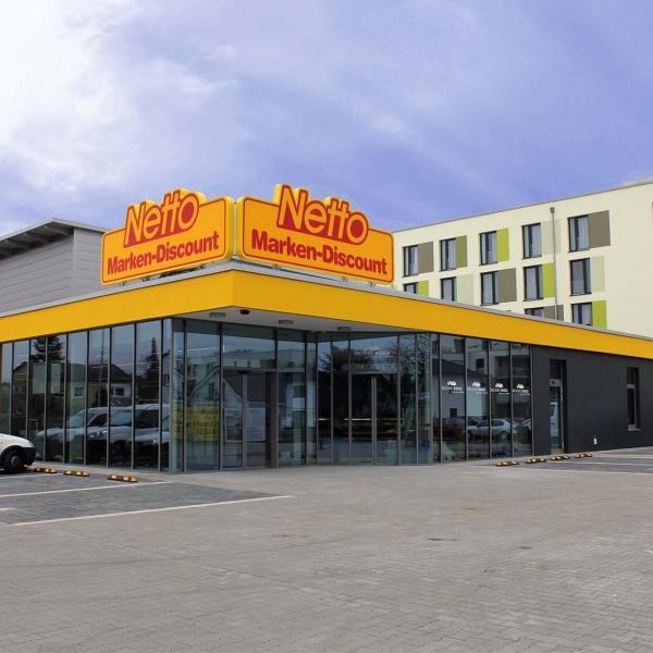 Neubau eines Verbrauchermarktes
